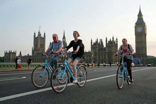 fietstour londen big ben